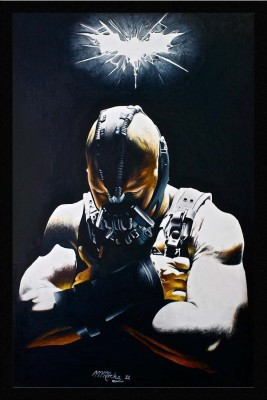 Athah Bane The Villain Batman Dark Knight Rises Poster Paper Print (18 inch X 12 inch, Rolled) Paper Print