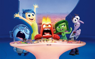 Movie Inside Out Disgust Anger Sadness Joy Fear HD Wall Poster Paper Print