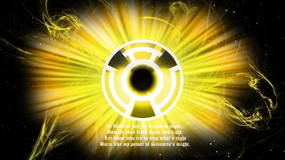 Comics Sinestro Corps Sinestro Fine Art Paper Print Poster Fine Art Print