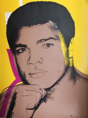 Muhammad Ali Serigraph And Screen Prints #2 by Andy Warhol - Premium Quality A3 Size Unframed Poster Paper Print