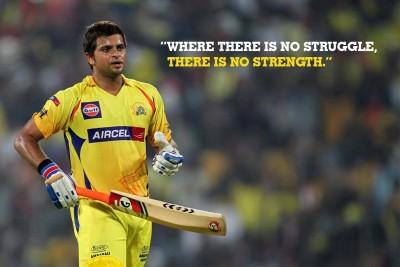 Poster Cricketer Suresh Raina 278 Photographic Paper