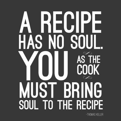 Art For Kitchen - Soul Of The Recipe - Medium Size Rolled Digital Art Print On Photographic Paper