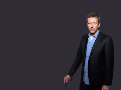 Wall Poster TVShow House Hugh Laurie Dr. Gregory House Paper Print