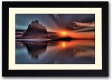 Sand Hill During Sunset Fine Art Print (...