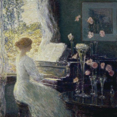 The Museum Outlet The Sonata, 1911 (Medium) Canvas Painting