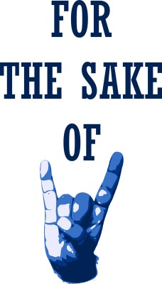 For the sake of Rock | Laminated Poster | Extra Large | 11 x 15.5 Photographic Paper