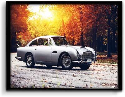 James Bond,Vintage Aston Martin Canvas Art