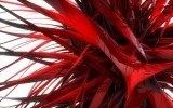 EurekaDesigns Red spikes Abstract Poster...