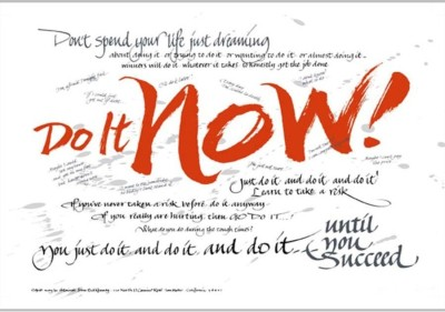 Athah Do It NowPoster es by Shopkeeda Paper Print Paper Print