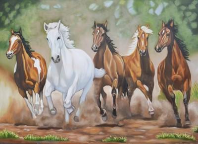 Horses Paper Print