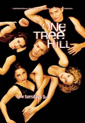 One Tree Hill - Lucas and Peyton Fine Art Print