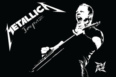 Athah Fine Quality Poster sk Metallica Paper Print