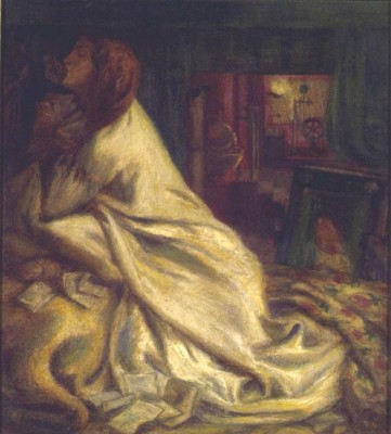 The Museum Outlet The Heart of the Night (Mariana in the Moated Grange), 1862 (Medium) Canvas Painting