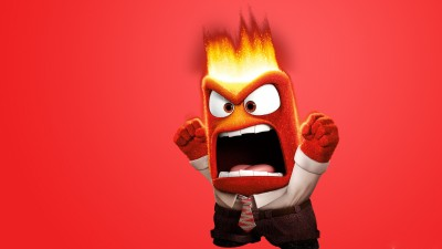 Movie Inside Out Anger HD Wall Poster Paper Print