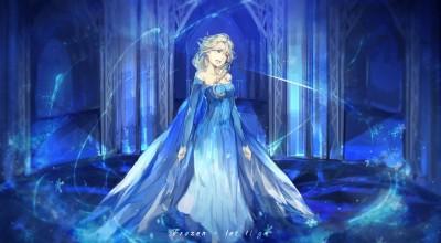 Movie Frozen Disney Elsa HD Wall Poster Paper Print