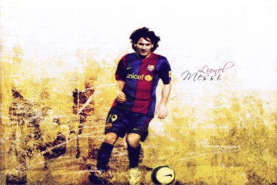 Colormart Lionel Messi footballer Photographic Paper