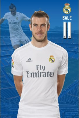 Real Madrid C.F. Mini Poster Bale 40 Paper Print(18 inch X 12 inch, Rolled)