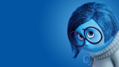Movie Inside Out Sadness HD Wall Poster Paper Print