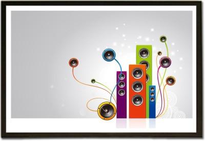 Loud Speakers Music B Paper Print