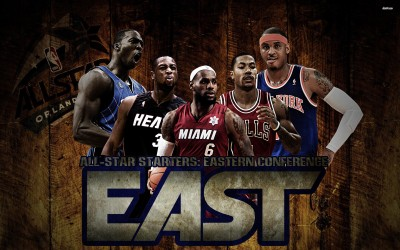 All-Star Starters - Eastern Conference Athah Fine Quality Poster Paper Print