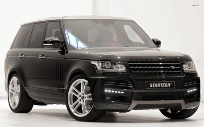 Athah 2013 STARTECH Land Rover Range Rover Poster Paper Print