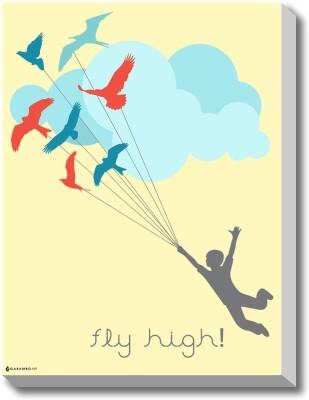 Fly High Canvas Art