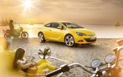 Athah Opel Astra GTC Poster Paper Print