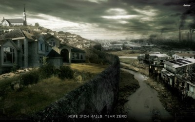 Nine Inch Nails - Year Zero Fine Quality Poster Paper Print