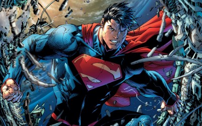 Superman: Unchained Superman Frameless Fine Quality Poster Paper Print