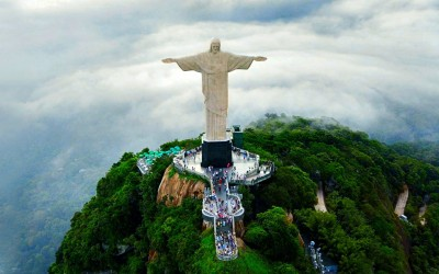 Christ the Redeemer A3 HD Poster Art PNCA25649 Photographic Paper