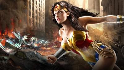 Wonder Woman Frameless Fine Quality Poster Fine Art Print