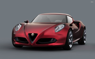 Athah Alfa Romeo 4C Poster Paper Print