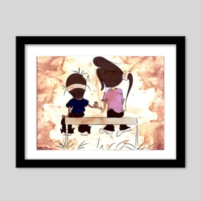 Athah Poster Sweet Couples Paper Print