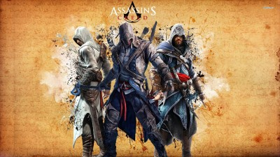 Altair, Ezio & Connor - Assassin's Creed Athah Fine Quality Poster Paper Print