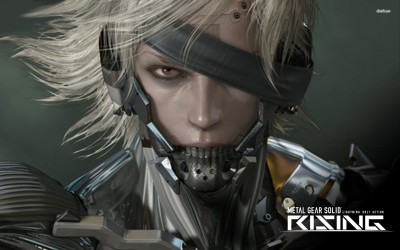 Metal Gear Rising - Revengeance Athah Fine Quality Poster Paper Print