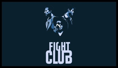 Athah Brad Pitt Edward Norton Awesome Hollywood Movie Fight club Artwork Poster Paper Print