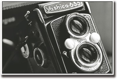 Athah Poster Vintage Yashica camera Paper Print