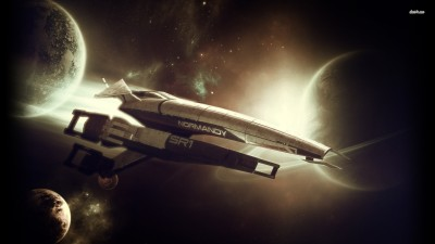 SSV Normandy SR-1 - Mass Effect Athah Fine Quality Poster Paper Print