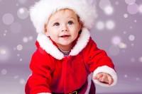 Child's Love - Christmas Boy Paper Print(12 inch X 18 inch)