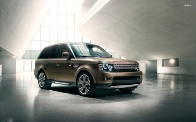 Athah Range Rover Sport Poster Paper Print