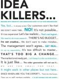 EurekaDesigns Idea Killers Paper Print R...