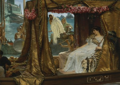 Alma-Tadema - The Meeting of Antony and Cleopatra Print Fine Art Print