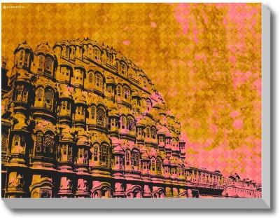 Colours of Jaipur (Jaipur 1) Canvas Art