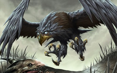 Glint Hawk - Magic: The Gathering Athah Fine Quality Poster Paper Print