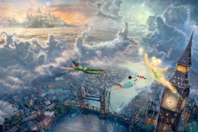 Movie Peter Pan Disney HD Wall Poster Paper Print