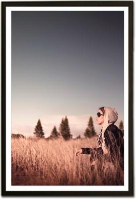 Framed Quest for Love Fine Art Print(13 inch X 19 inch, Framed)