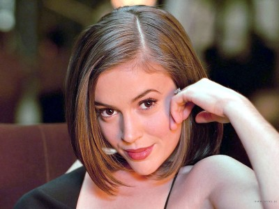 Celebrity Alyssa Milano Actresses United States Alyssa Milano HD Wall Poster Photographic Paper(12 inch X 18 inch, Rolled)