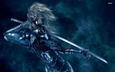 Raiden - Metal Gear Rising - Revengeance Athah Fine Quality Poster Paper Print