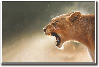 Athah Poster Lioness Paper Print