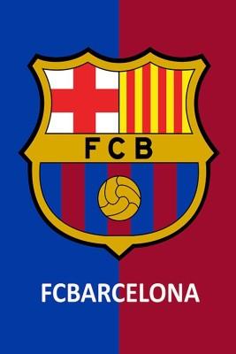 Posterhouzz FC Barcelona logo Poster Fine Art Print